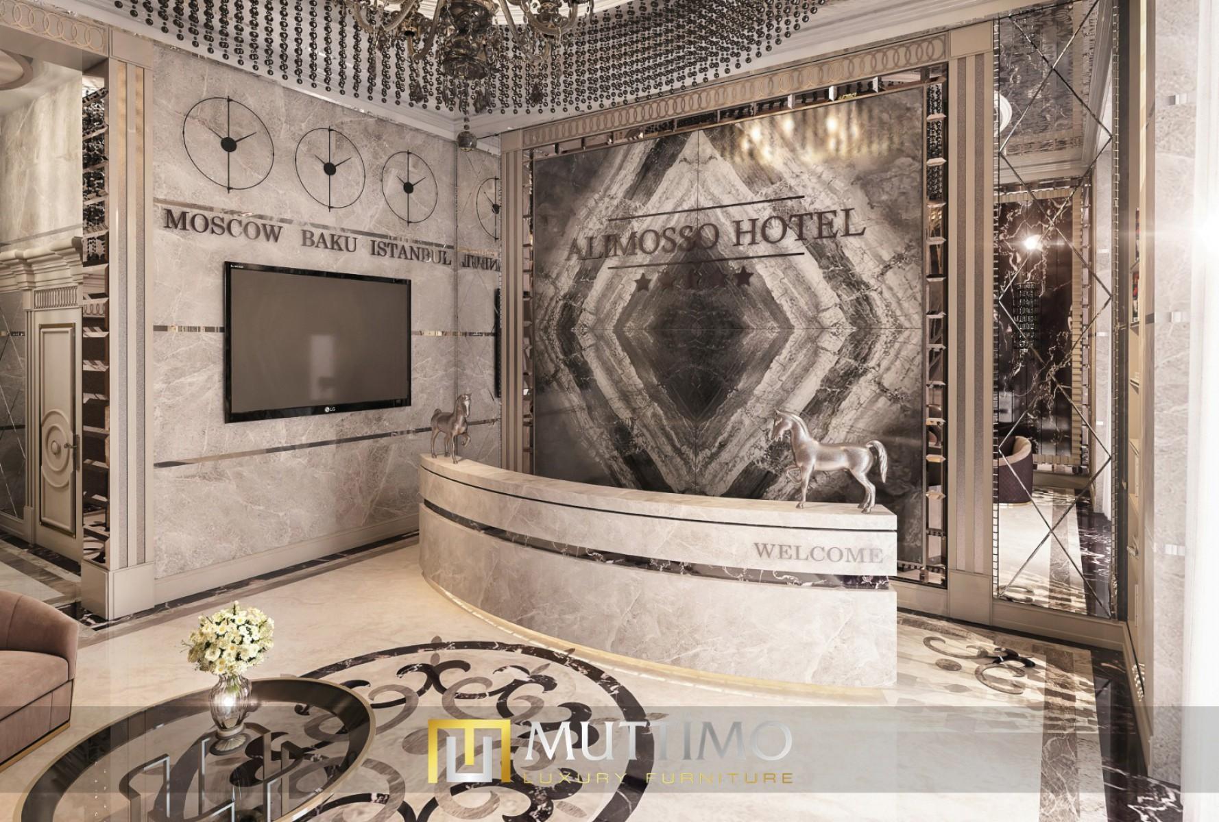 Azerbaycan Otel Lobby