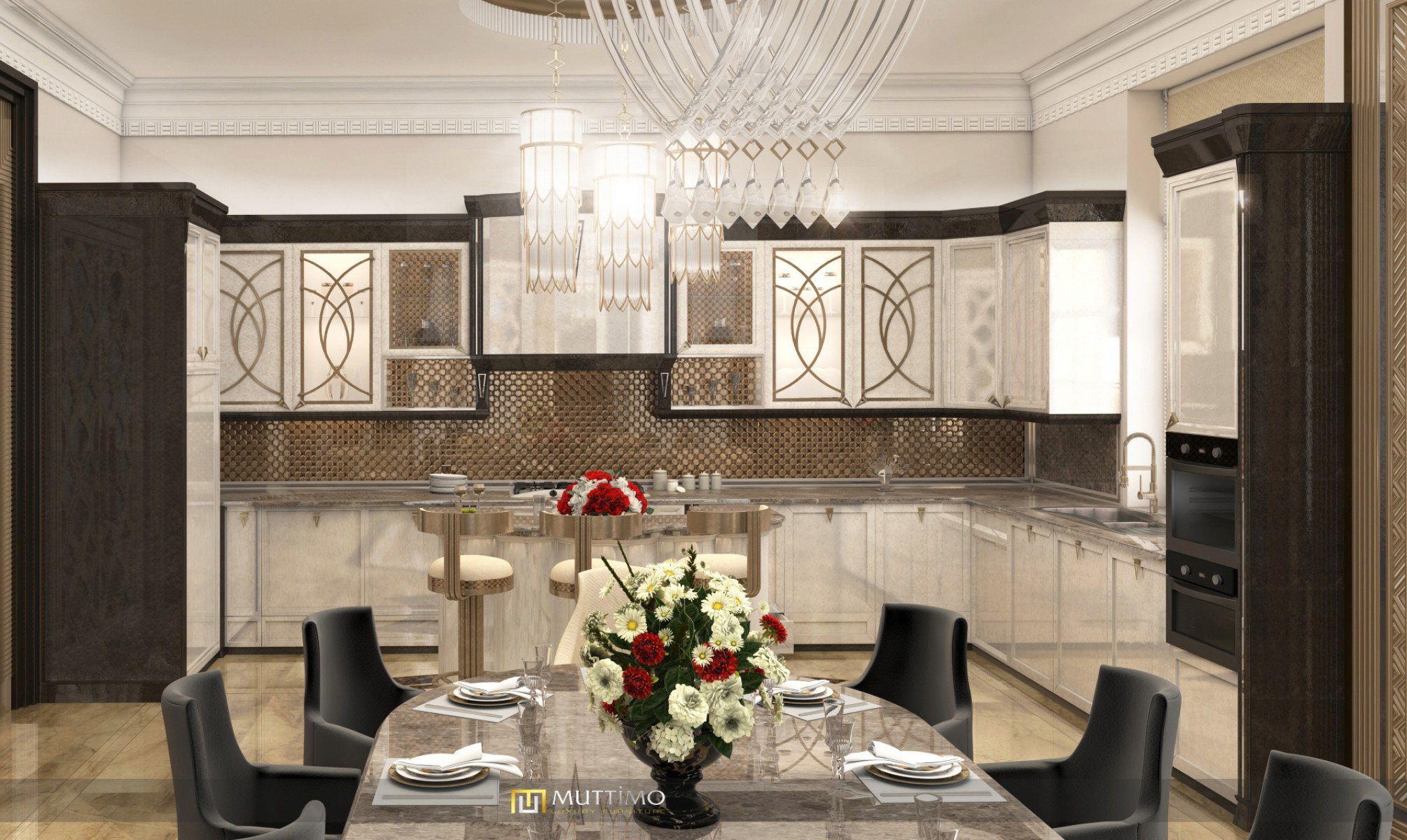 Brıga Towers Elçin Bey Mutfak Rusya