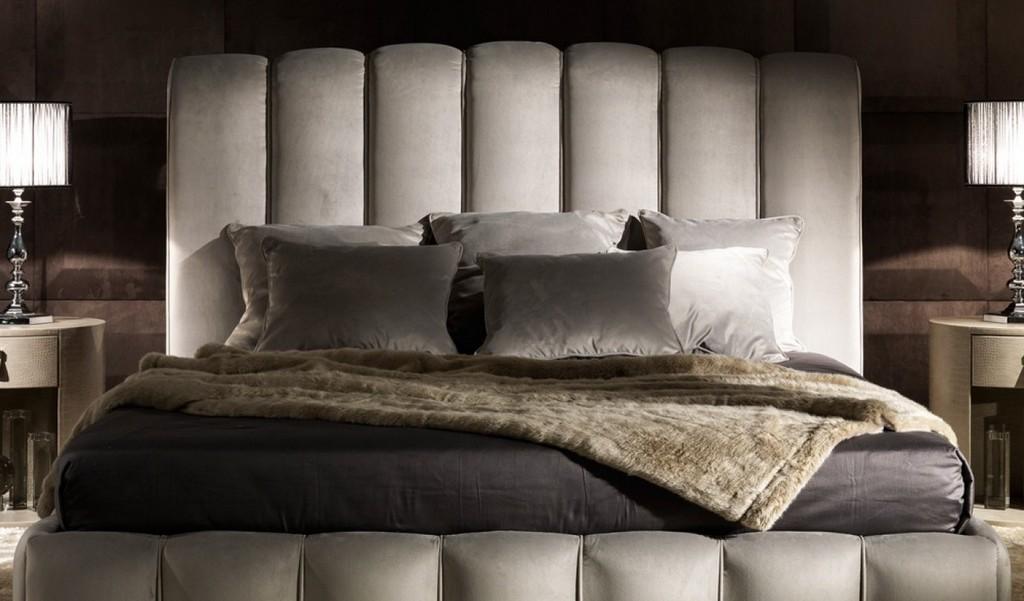 Caboo İtalyan Dilimli Nubuk Başlıklı Modern Yatak