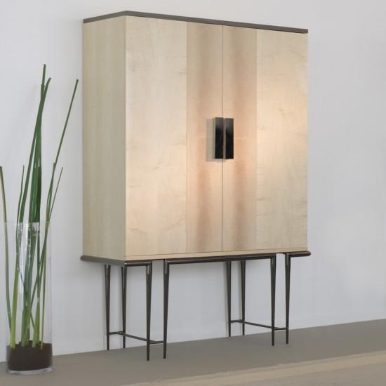 Londra Koleksiyonu Modern Tasarım 2 Kapaklı Dolap