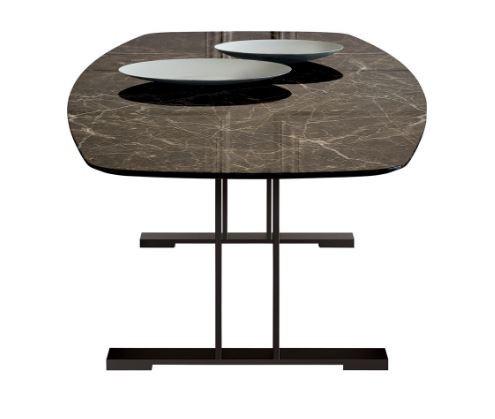 Santiago Oval Yemek Masası