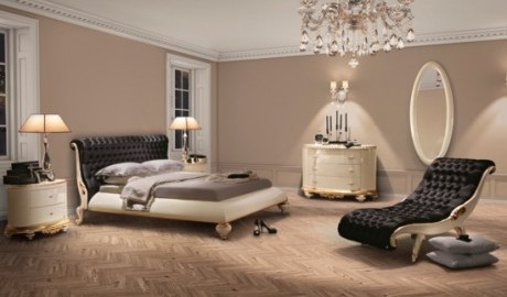Klasik Barok Stil Şezlong